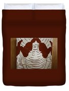 Mukama Atulabba - God Sees Us - Tile Duvet Cover