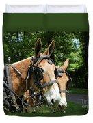 Mule 5 Duvet Cover