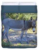 Mule In The Pasture Duvet Cover