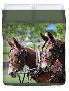 Mules Day 2016 Duvet Cover