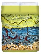 Multi-color Wall Duvet Cover by Ray Laskowitz - Printscapes