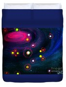 Multi-colored Constellation  Duvet Cover