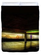 Multi-storey Sunset Duvet Cover