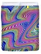 Multicolor Swirls Duvet Cover