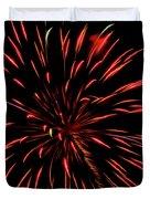 Multicolored Fireworks 2 Duvet Cover