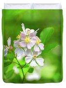 Multiflora Rose Duvet Cover