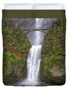 Multnomah Falls 1 Duvet Cover