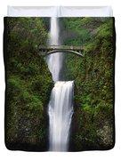 Multnomah Falls, Oregon, Usa Duvet Cover