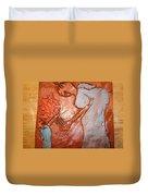 Mum 2 - Tile Duvet Cover