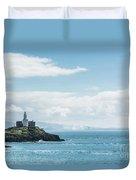 Mumbles Lighthouse 2 Duvet Cover