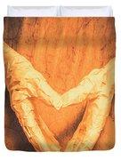 Mummies Love Halloween Duvet Cover