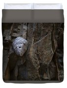 Mummy Head Duvet Cover by Barbara Schultheis