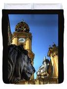 Munchen Lion  Duvet Cover