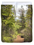 Munro Trail Duvet Cover by Ron Dahlquist - Printscapes