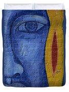 Mural Face Duvet Cover