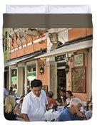 Murano Cafe Duvet Cover
