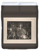 Murder Of Edith Cavell, First State By George Bellows 1882-1925 Duvet Cover