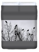 Murder On Music Row Duvet Cover