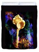 Murex Haustellum Seashell Duvet Cover