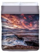 Muriwai Sunset Duvet Cover