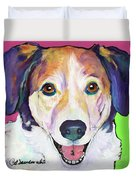 Murphy Duvet Cover by Pat Saunders-White