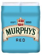 Murphys Irish Red Duvet Cover
