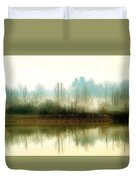 Muscatatuck Morning Duvet Cover