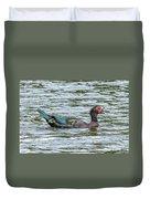 Muscovey Duck Duvet Cover
