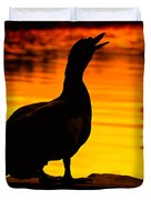Muscovy Sunset Duvet Cover