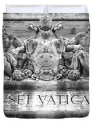 Musei Vaticani Duvet Cover