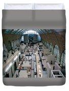Museum D'orsay Paris Duvet Cover
