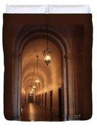Museum Hallway Duvet Cover