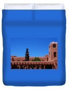 Museum Of Indian Arts And Culture Santa Fe Duvet Cover