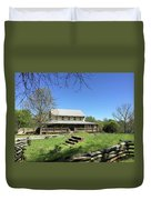 Musgrove Mill Sc State Historic Site Duvet Cover by Kelly Hazel