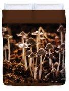 Mushroom Friends Duvet Cover