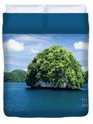 Mushroom-shaped Island Duvet Cover