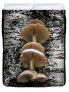 Mushroom Treehouse Duvet Cover
