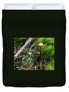 Mushroom Tundra Duvet Cover