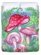 Mushroom Wonderland Duvet Cover