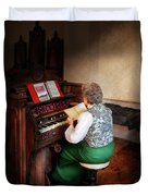 Music - Organist - The Lord Is My Shepherd  Duvet Cover