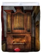 Music - Organist - What A Big Organ You Have  Duvet Cover