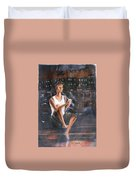 Music  By  The  Night Duvet Cover