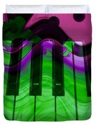 Music In Color Duvet Cover
