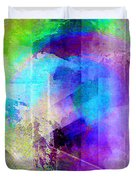 Music In The Forest - Abstract Art Duvet Cover