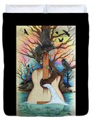 Music Is My Nature Duvet Cover