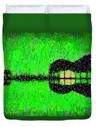 Music World - Pa Duvet Cover