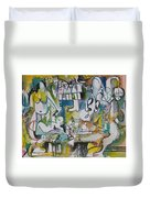Musical Abstraction  Duvet Cover