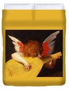 Musical Angel Duvet Cover