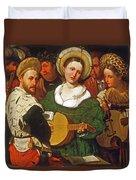 Musical Group Duvet Cover