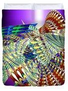 Musical Snails Duvet Cover